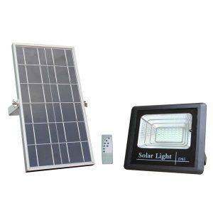 Proiector LED 12W cu panou solar