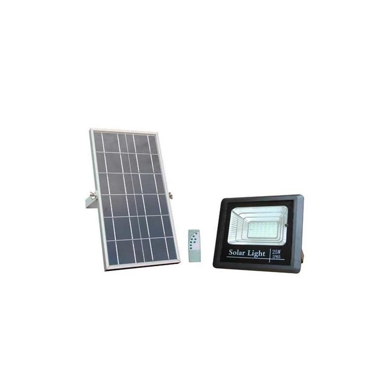 Proiector LED 35W cu panou solar